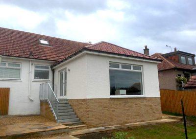 Rear House Extension Milngavie - Split Level #1