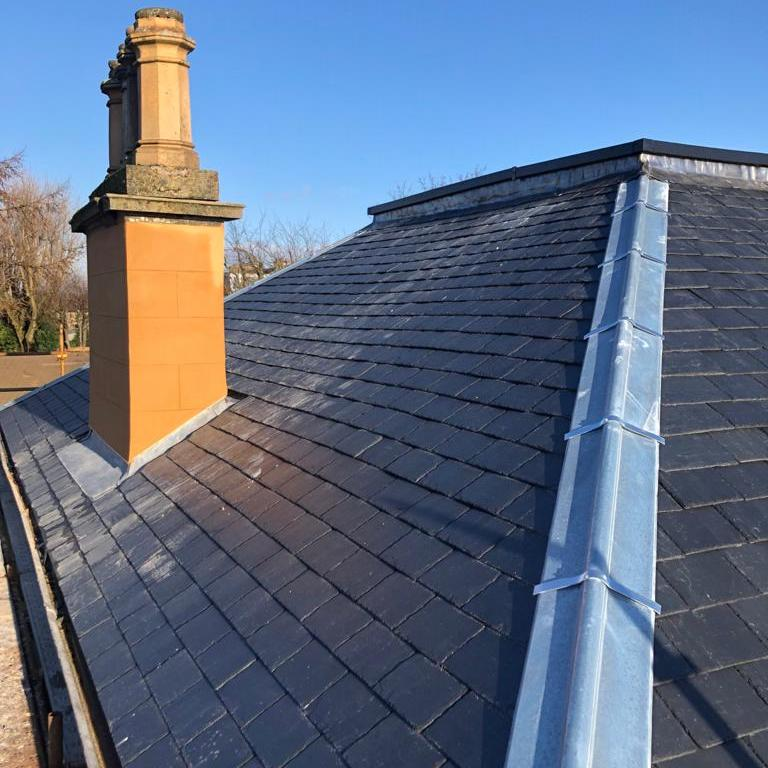 new slated roof Kirkintillioch
