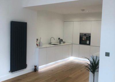 open plan kitchen refurbishment