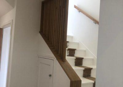 refurbished hall & stairs