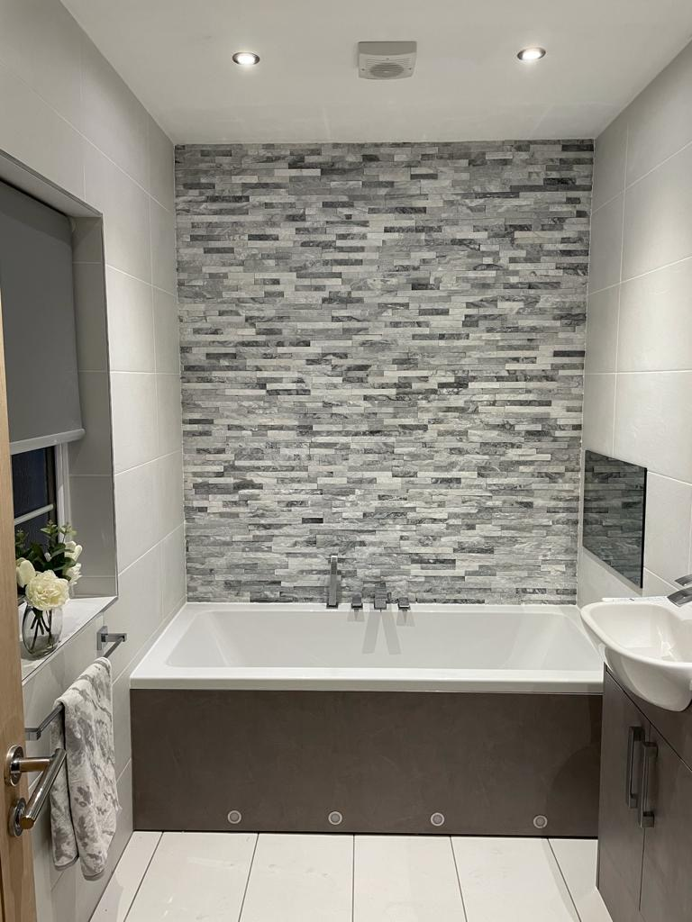 Bathroom Fitting Kirkintilloch  - TV in Wall - Bell & Higgins
