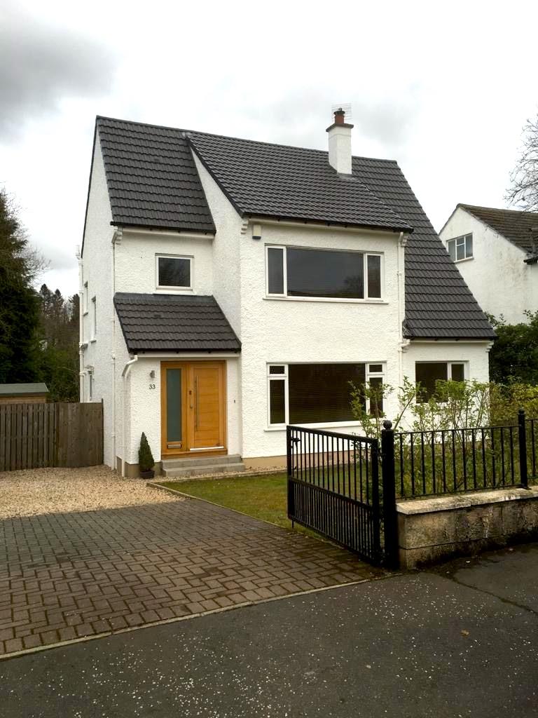 New Roof & Porch - Bearsden - Bell & Higgins