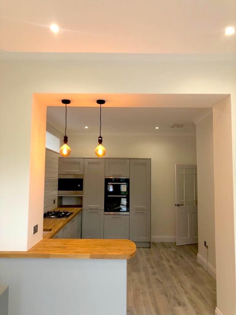 Refurbishment Paisley - Kitchen - Bell & Higgins, Glasgow