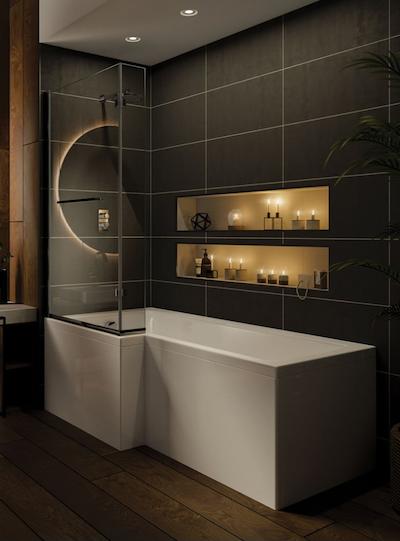 Bathroom Fitting Glasgow - Solarna Bath -  Bell & Higgins
