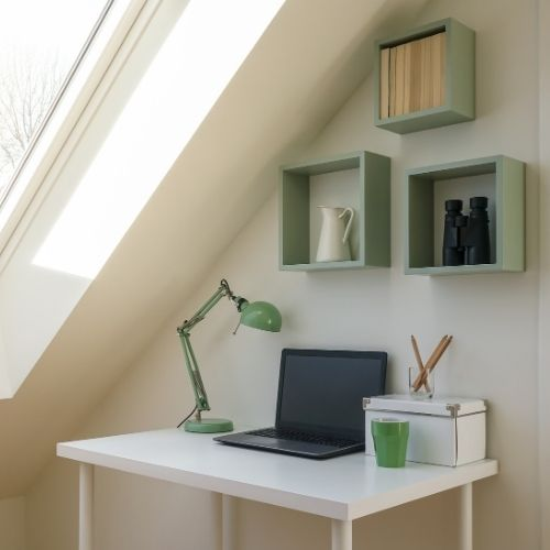 loft conversion office - Bell & Higgins