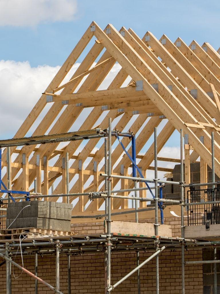 New roof - Bell & Higgins, Glasgow