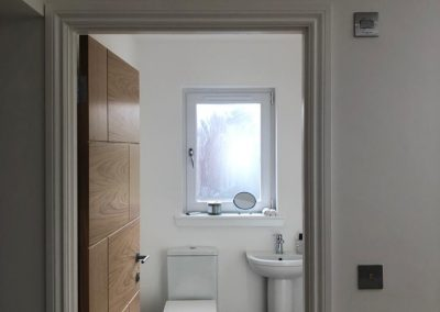 New bathroom Bearsden, Bell & Higgins Glasgow