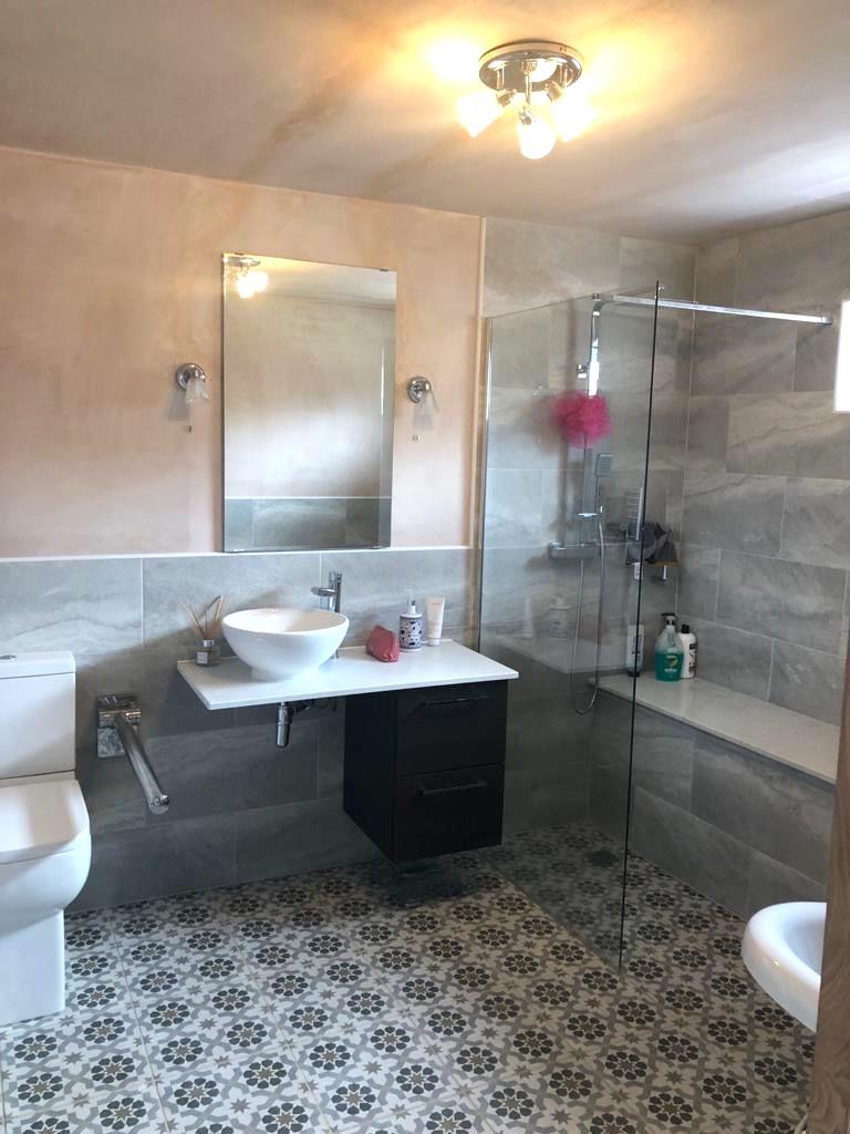bathroom adaptation Milton of Campsie - Glasgow