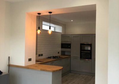 Open plan kitchen Paisley