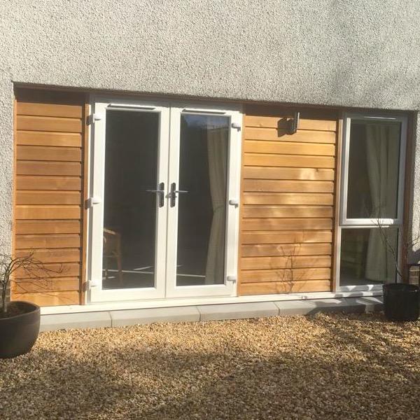 garage conversion - Strahblane - exterior