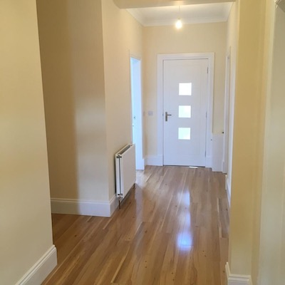 hallway maintenance & flooring - Stepps