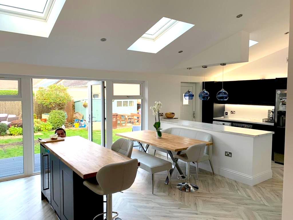kitchen extension - Stepps, Bell & Higgins Kitchen Remodelling - Glasgow