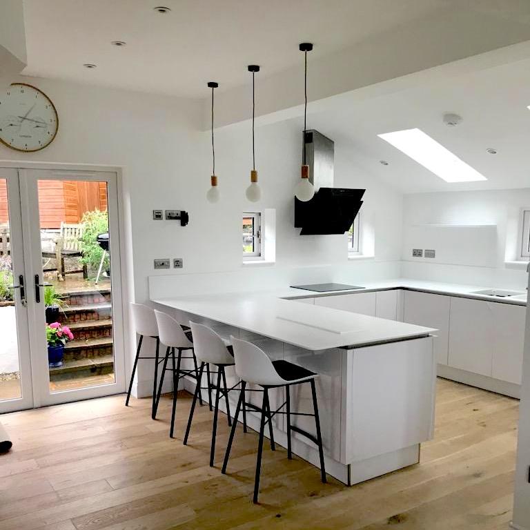 kitchen project - Bearsden - Bell & Higgins