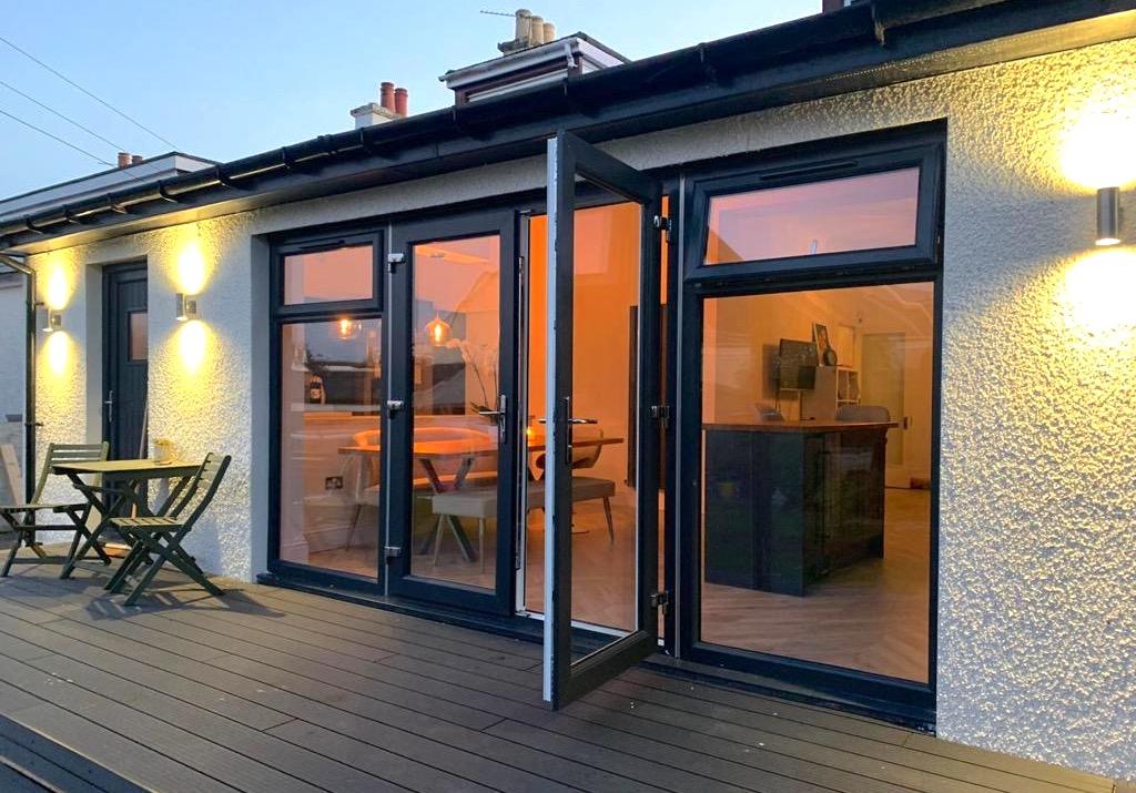 kitchen remodel & extension - Stepps, Bell & Higgins, Glasgow