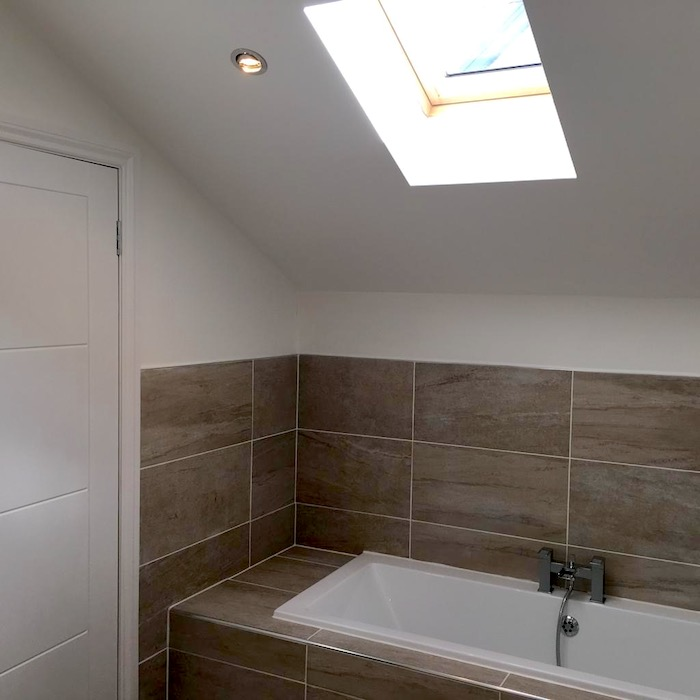 loft conversion bathroom - Stepps - Bell & Higgins, Glasgow