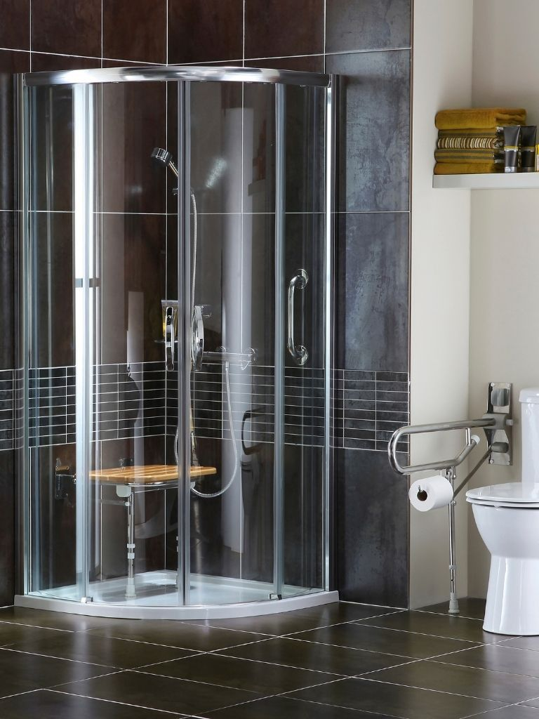 low level shower design - Bell & Higgins