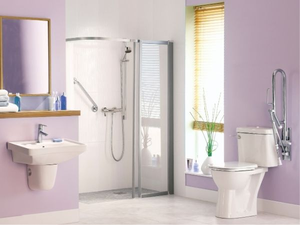 mobility bathroom design Glasgow - Bell & Higgins