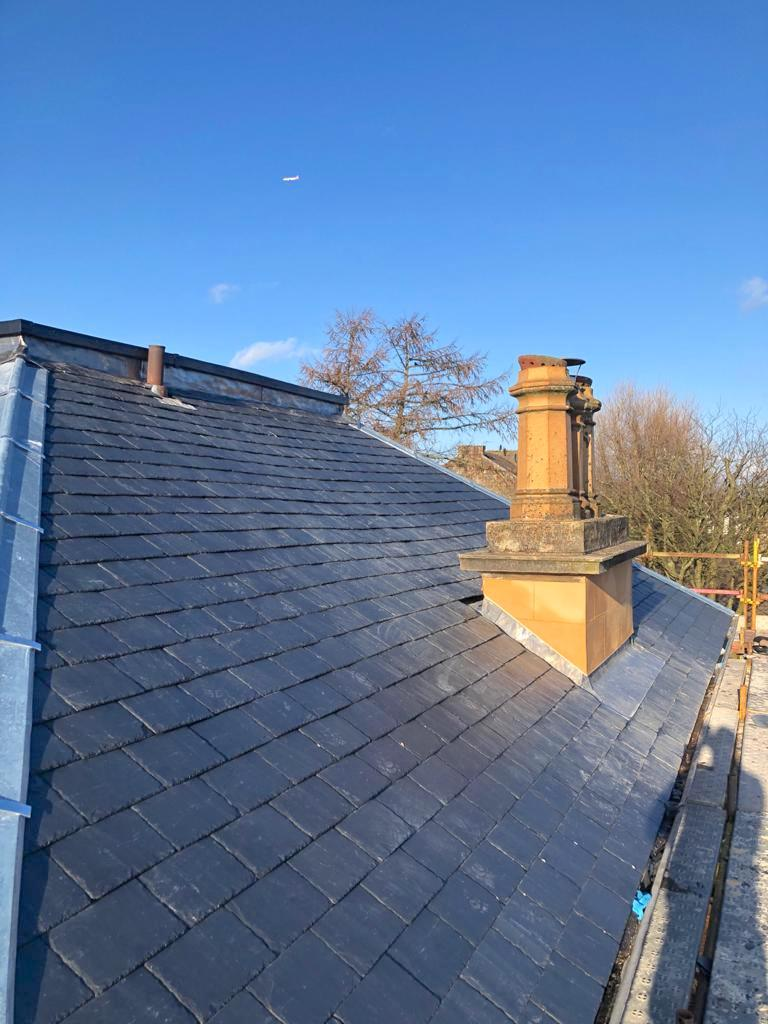 new slate roof Kirkintilloch - Bell & Higgins, Glasgow