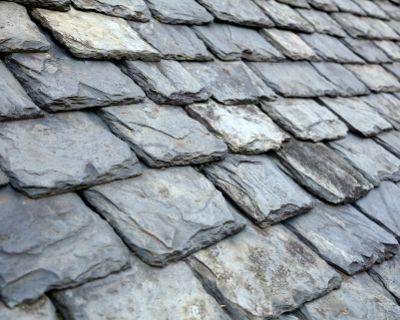 worn slate roof - Bell & Higgins, Glasgow