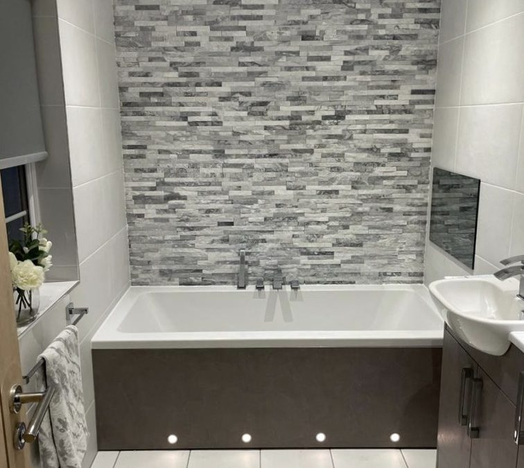 En-suite bathroom renovation: Kirkintilloch