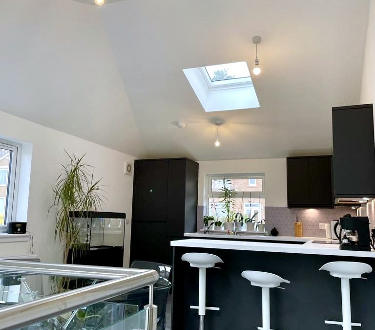 Extension & kitchen: Bearsden