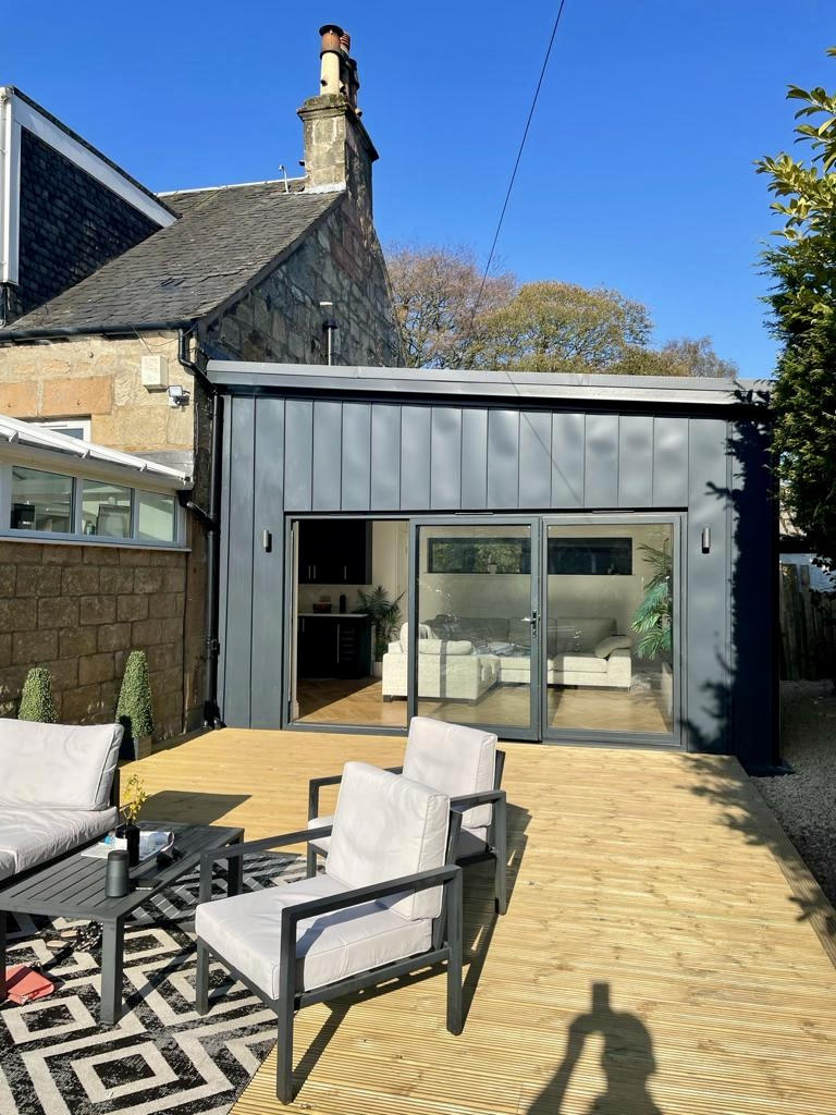 House extension Stepps 2 - April 2021