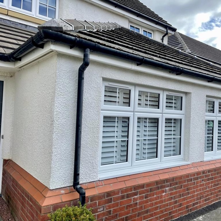 Double Garage Conversion - Bell & Higgins - Garage Conversions In Paisley