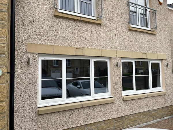 Double Garage Conversion Exterior - Bell & Higgins - Garage Conversions Paisley