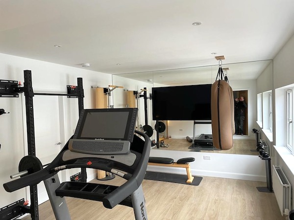 Gym Garage Conversion - Bell & Higgins - Garage Conversions In Paisley