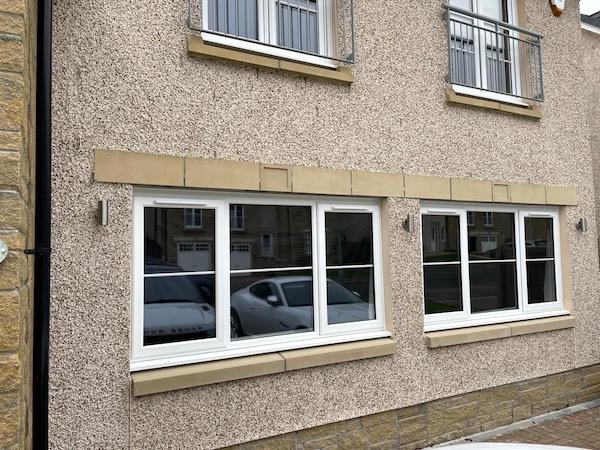 Double Garage Conversion Exterior - Bell & Higgins - Garage Conversions Clydebank